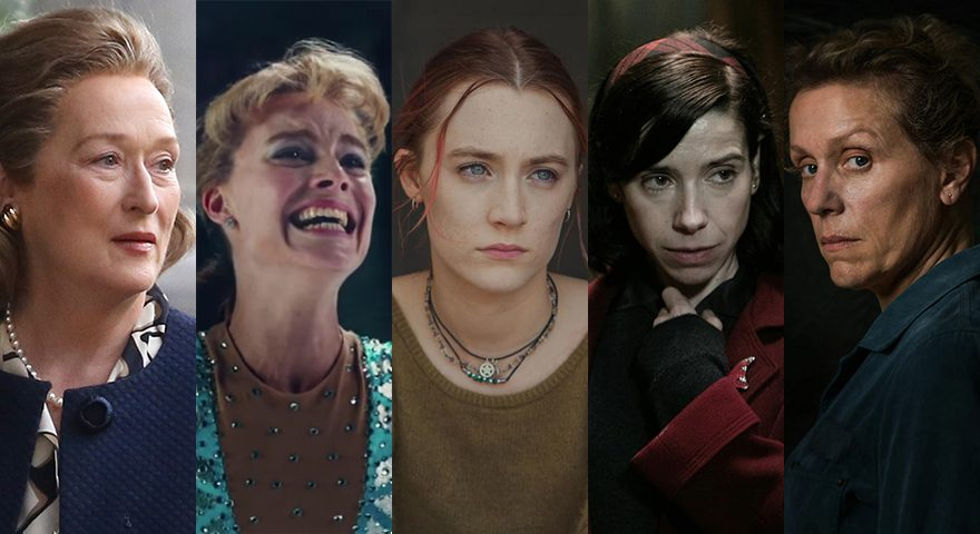 Oscar-Favoriten 2018 in der Kategorie Beste Hauptdarstellerin