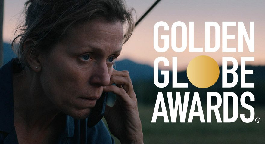 Three Billboards Outside Ebbing, Missouri bei den Golden Globes 2018